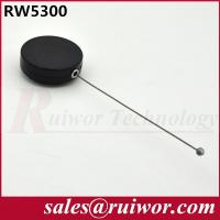 Quality Round Anti Theft Retractable Steel Cable For Product Positioning 18.6 Gram Per for sale