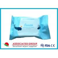Wholesale Ultra Thick Fabric Adult Wet Wipes With Rich Marine Essence Ocean Hydrated from china suppliers
