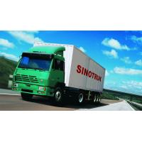 Wholesale SINOTRUK STEYR 371HP 15 Ton Prime Mover Truck in Green , Manual Unloading Diesel Trucks , Global Machine from china suppliers