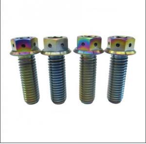 Wholesale GR5 Ti6AL4V ti6Al4V M6x105 Titanium CNC Machined Bolt Ti6Al4V from china suppliers
