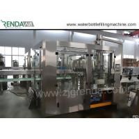 China 330ml Beverage Filling Machine PET Bottle Washing Filling Capping Machine 3.8KW for sale