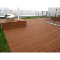 China Easily installed wpc outdoor flooring,composite decking, waterproof wpc decking on sale