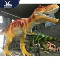 China Vivid Life Size Professional Realistic Dinosaur Models For Museum Exhibits for sale
