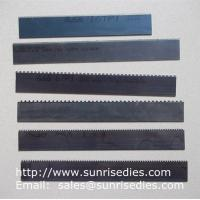 Quality Perforated knife blade steel cutter dies, perforation steel blade wooden dies for sale