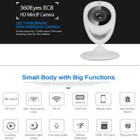 Wholesale EC8 HD 720P Mini Wifi IP Camera Wireless P2P Baby Monitor Network Remote CCTV Surveillance DVR Camera Playback on App from china suppliers