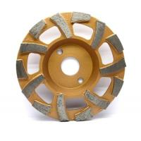 """Wholesale 4.5"""" 5"""" 7"""" Size Metal Bonded Diamond Grinding Wheel For Concrete from china suppliers"""