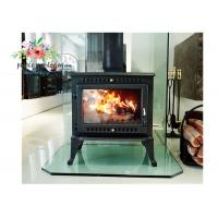 Wholesale Environmental Promotional Free Standing Polished Cast Iron Fireplace 12KW from china suppliers