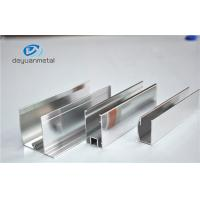 Wholesale Shower Enclosures Mirror Surface Extruded Aluminium Profiles With Color Silver from china suppliers