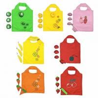 Convenient Reusable Grocery Tote Bags , Eco Friendly Shopping Bags Colorful for sale