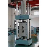 Quality HUT-1000D Single Space Hydraulic Servo Universal Testing Machines, Limit protection, automatic extensometer for sale