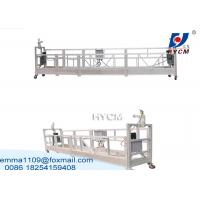 China ZLP Steel Wire Suspended Working Platform Steel Hot Galvanized Alloy Material on sale