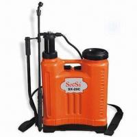 Pressure Sprayer with PVC Hose and PP Handle, Available in Capacity of 20L