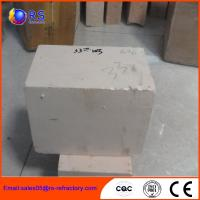 Buy cheap AZS 33 Zirconia Corudum Fire Clay Bricks For Glass Furnace , High Strength from Wholesalers