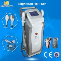 Wholesale Safe ABS IPL Beauty Equipment , Elight SHR Permanent  Hair Removal Machine from china suppliers