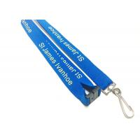 Quality Fashion Custom Polyester Lanyards New Year Activities Necessary With Personalise for sale