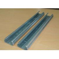 Wholesale Anti Rust Greenhouse Accessories Fixing Film Profile Lock Channel With Spring Wire from china suppliers