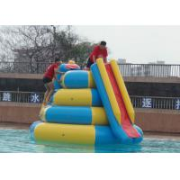 Quality Lead Free Inflatable Tube Slide , 4mx4mx4m Blow Up Water Toys High Durability for sale