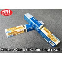Wholesale Food Grade Silicone Treated Parchment Paper Virgin Wood Pulp Material Double Sides Coated from china suppliers