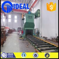 Wholesale H beam cleaning shot blasting machine for with Siemens/Schneider PLC from china suppliers