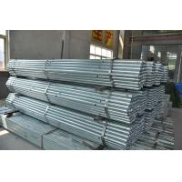Hot rolled schedule80 galvanized ERW steel pipe