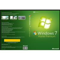Wholesale Full Language COA License Sticker , Microsoft Windows 7 Home Activation OEM Key 32/64 Bit from china suppliers