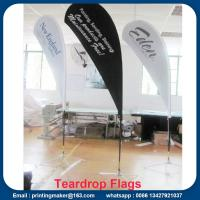 Wholesale Custom Teardrop Flag Signs for Business from china suppliers