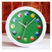 China New creative gift product billiards pool table alarm clock on sale