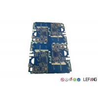 Buy cheap Blue Solder Mask Multilayer PCB Board For Impedance Communication Equipment from wholesalers