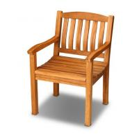 Wholesale outdoor furniture wooden armchair teak chair from china suppliers