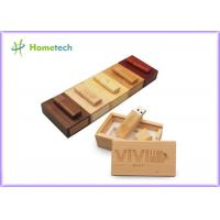 Buy cheap Debossed Logo USB Wooden Memory Sticks 16GB For Company & Individual from wholesalers