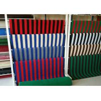 China Foam Backing Industrial Rubber Sheet PVC Coil Mat 12-18m Length , Easy To Clean on sale