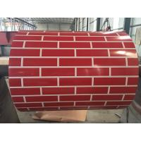 China G550 Patterned Prepainted Steel Coil 0.38 X 1200MM PPGI Zinc Coating 80 on sale