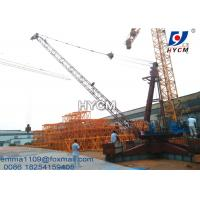 China 12tons Load Derrick Crane QD2025 66ft Jib Length SINEE VFD Inverter for sale