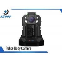 Quality 16GB Security Portable Body Camera , 1950mAh Battery Police Body Worn Video for sale