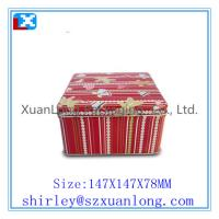 Wholesale CMYK Printing Tin l Candy Square Container from china suppliers