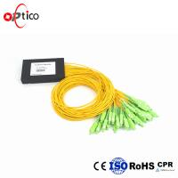 Wholesale 1x32 PLC Fiber Optic Splitter Splice Pigtailed ABS Module 2.0mm SC/APC Single Mode from china suppliers