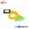 1x32 PLC Fiber Optic Splitter Splice Pigtailed ABS Module 2.0mm SC/APC Single for sale