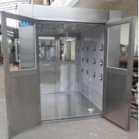 Wholesale IOS 5 Stainless Steel Clean Room Air Shower Tunnel Equipment With Vertical Blowing from china suppliers