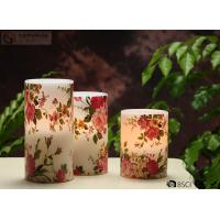 "Quality Rose Decorative Flickering Flameless Led Candles Dia 3"" x H 4"" for sale"