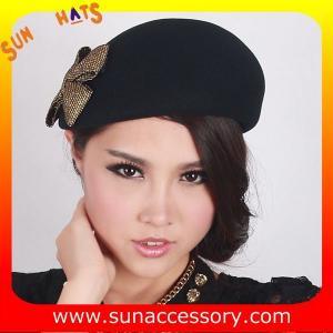 China T5631185 Sun Accessory customized  winner  fashion 100% wool felt  beret, women hats and caps wholesaling on sale