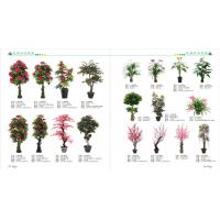 Wholesale mini bonsai plant artificial art flower artificial green trees plants plastic bamboo plants from china suppliers