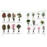 Buy cheap mini bonsai plant artificial art flower artificial green trees plants plastic from wholesalers