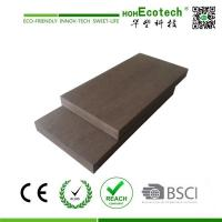 Quality 23 mm thickness solid wood plastic decking for sale
