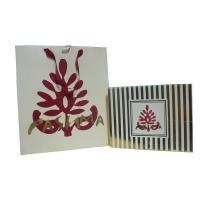 Wholesale OEM Pashma 210g Art Paper Shopping Bag With Matt Lamination, Logo Stamp from china suppliers