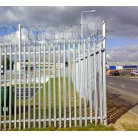 Wholesale Zinc Plating Fences, Metal Type Palisade Fence / Security morden warehouse wall grill fence yard palisade outdoor from china suppliers