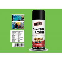 Jade Green Color Graffiti Spray Paint High Coverage For Motorcycle Surface Decoration for sale