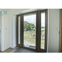 Buy cheap Interior Aluminium Casement Door 70 Series waterproof with Single / Double Glazed Glass from wholesalers