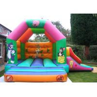 Quality Custom Cartoon Inflatable Combo Tom And Jerry Bouncy Castle For Rent for sale