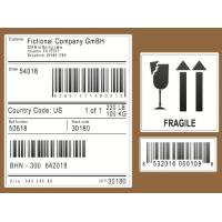 Wholesale Scratch Off Logistic Labels , Self Adhesive Sticky Labels For Express / Parcel from china suppliers