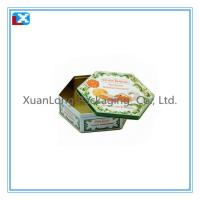 Wholesale Nice printing octagonal cookie tin from china suppliers